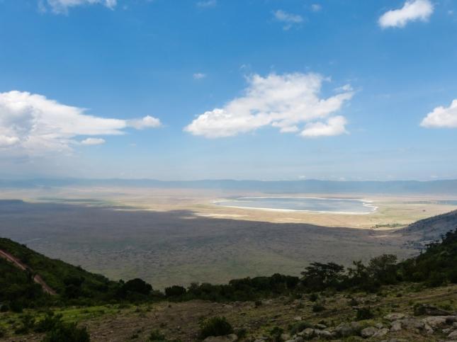 Ngorongoro Crater.
