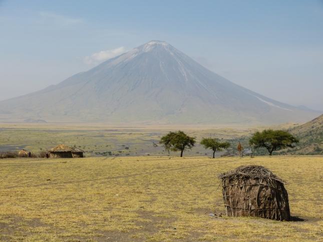 "Gorgeous volcano ""Ol Doinyo Lengai""."