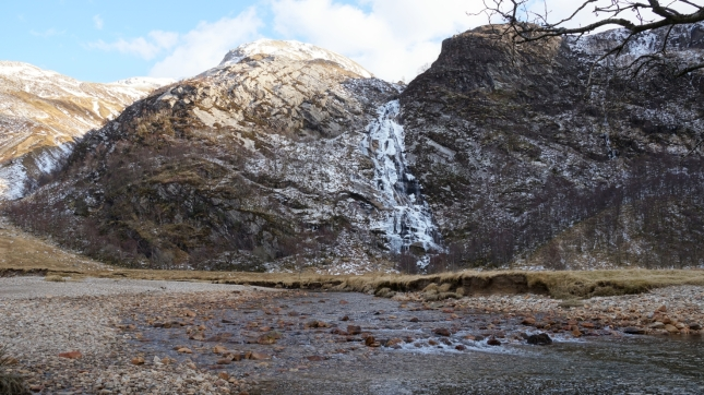The amazing Steall Falls.